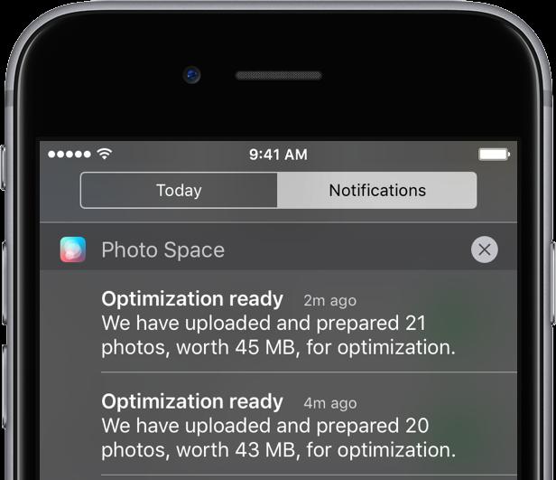 Avast Photo Space 1.0 for iOS iPhone screenshot 006