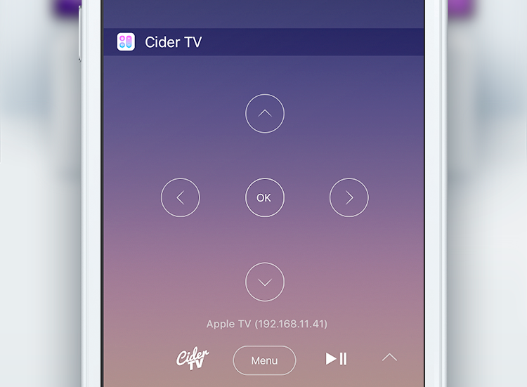 CiderTV Notification Widget teaser 001