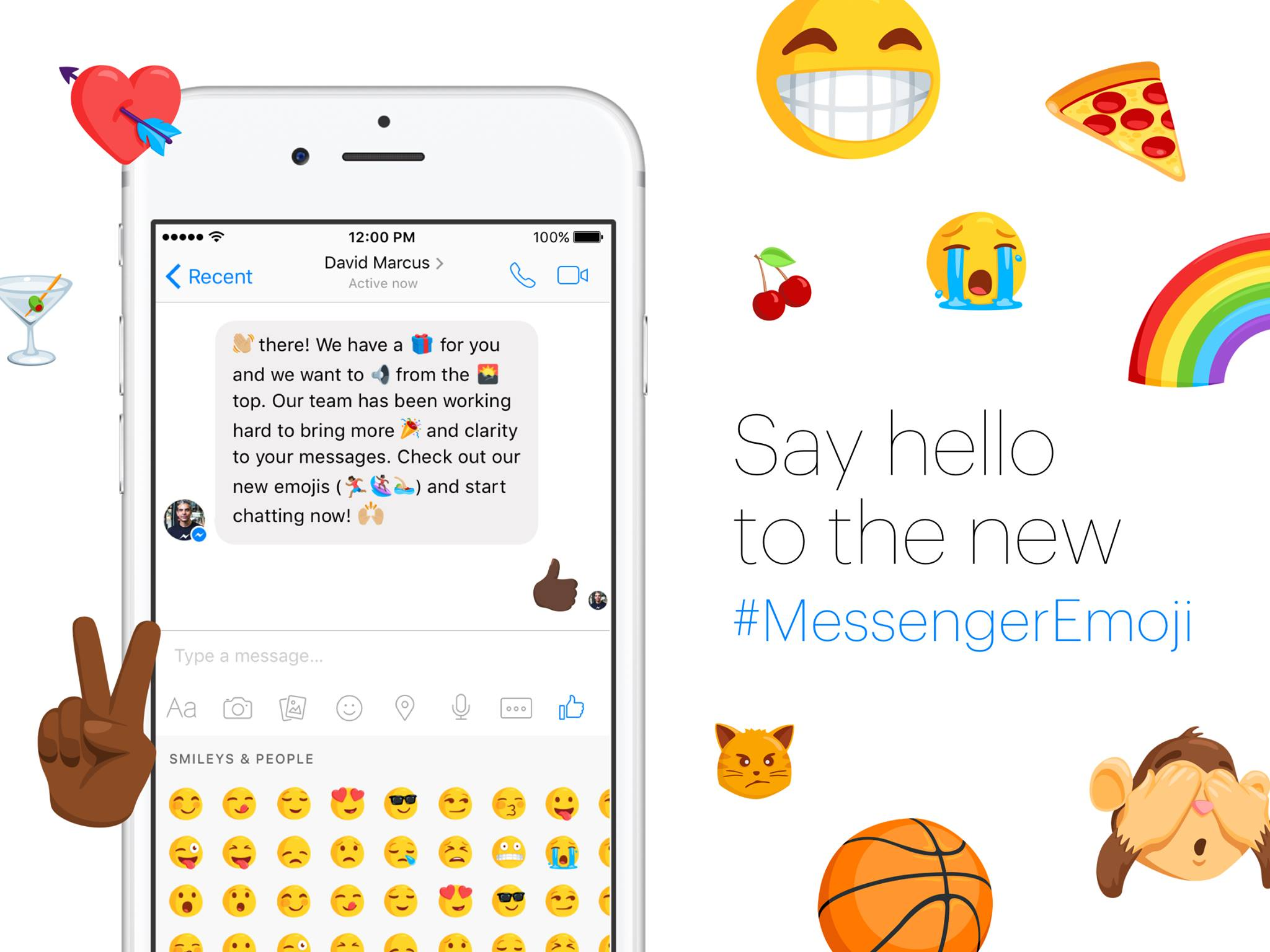 Facebook has added over 1,500 new emoji characters to Messenger