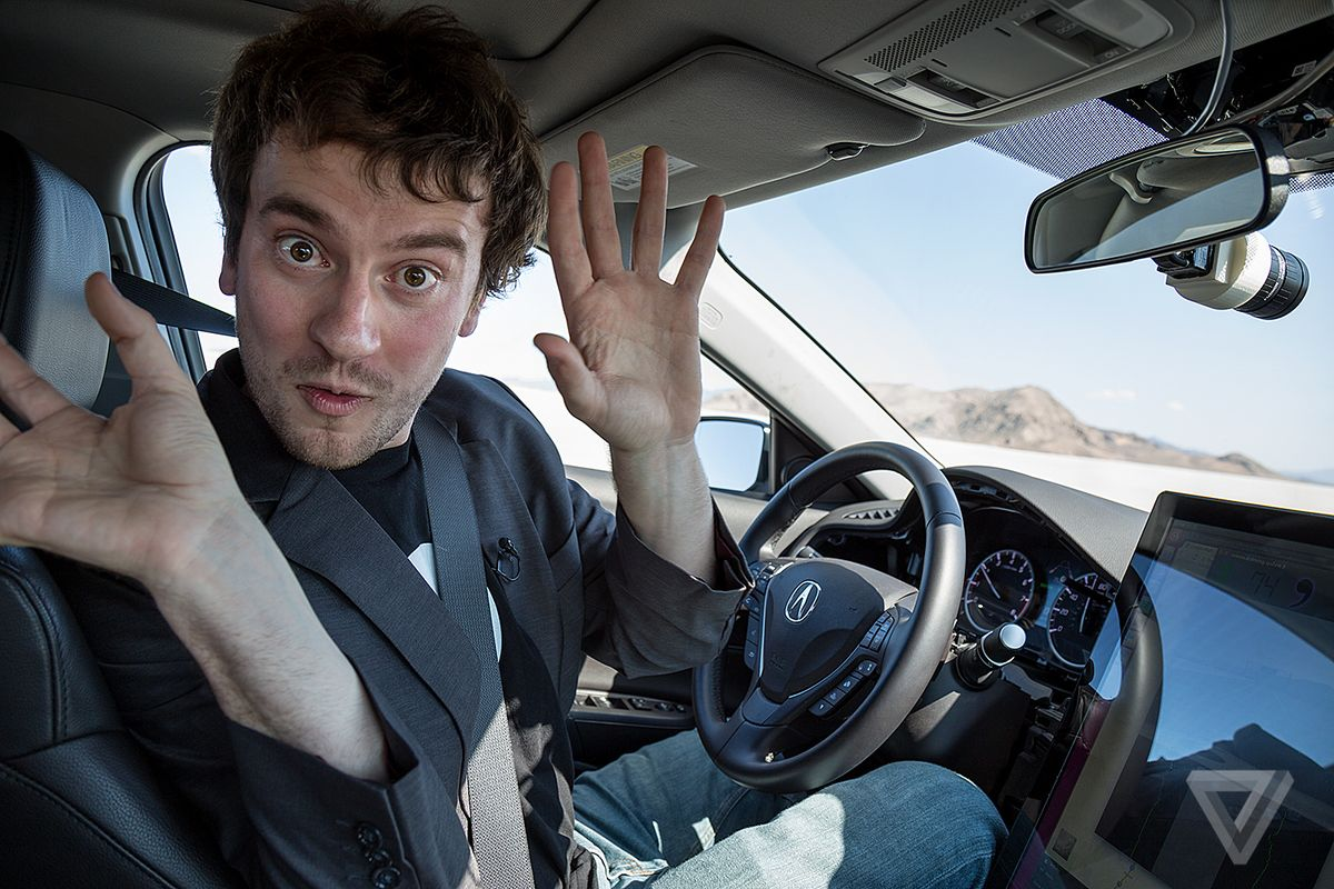 George Hotz self driving car image 001