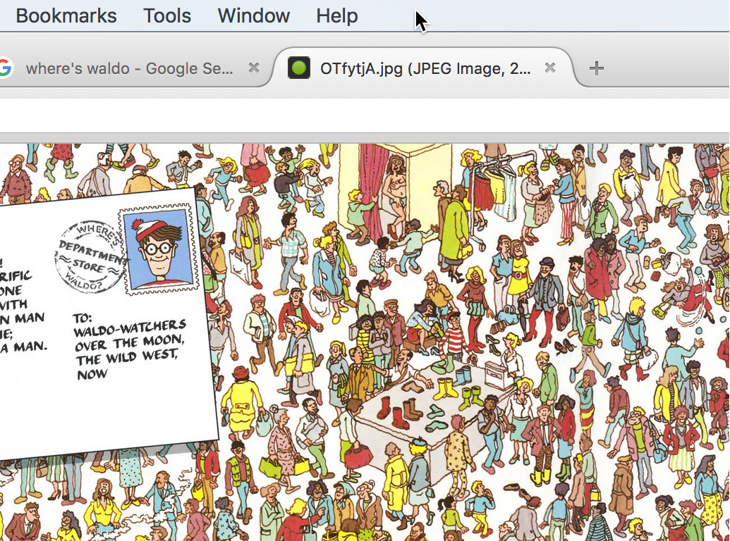 How to Zoom on a Mac Where's Waldo