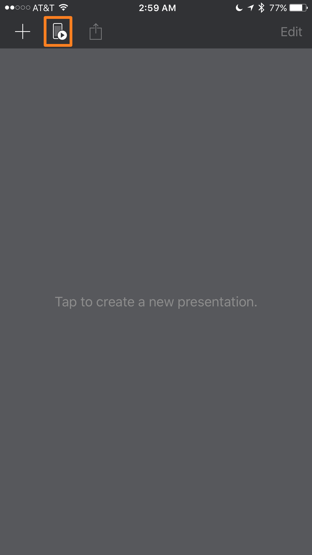iphone remote keynote
