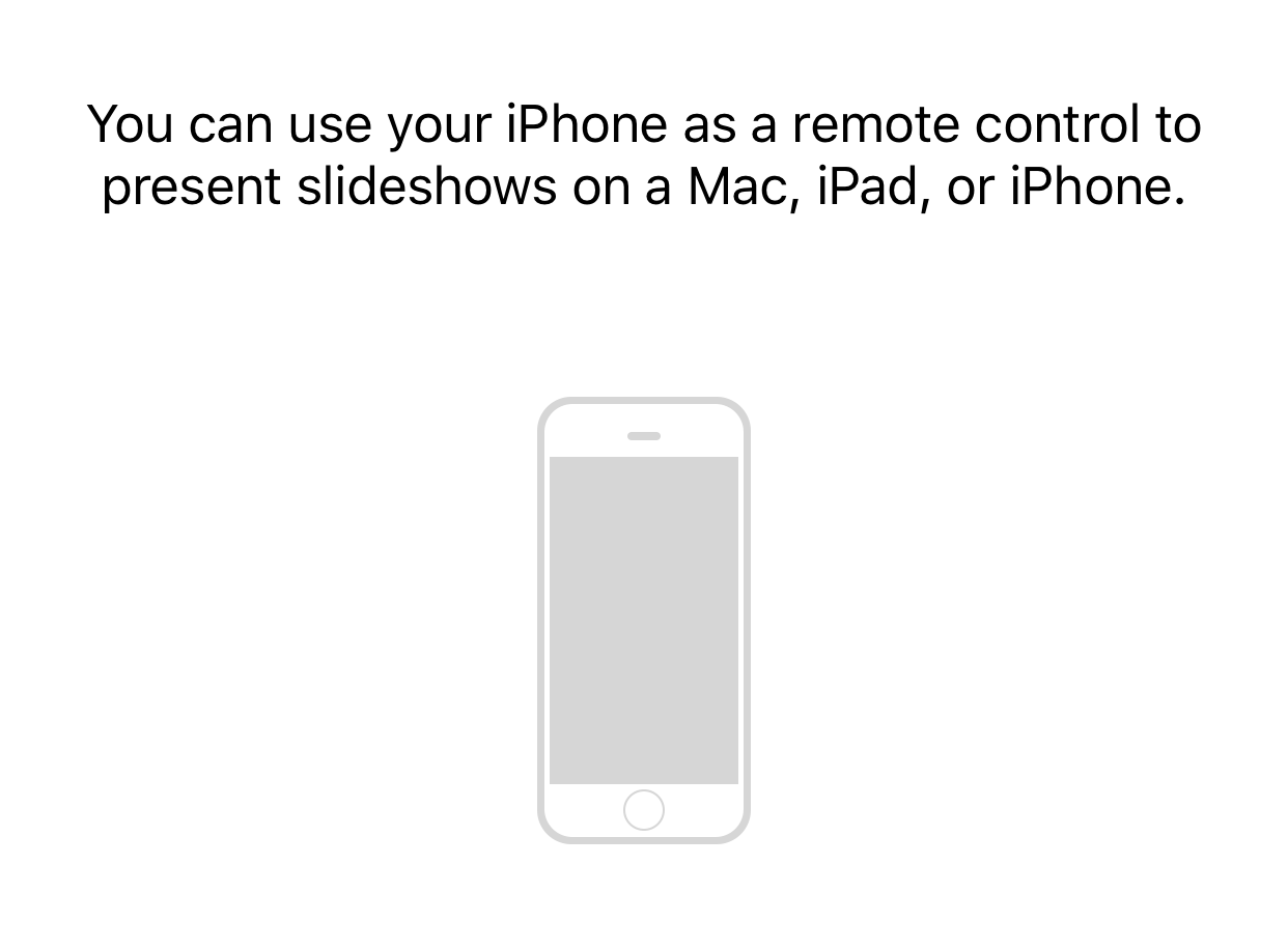 Keynote Remote for Mac