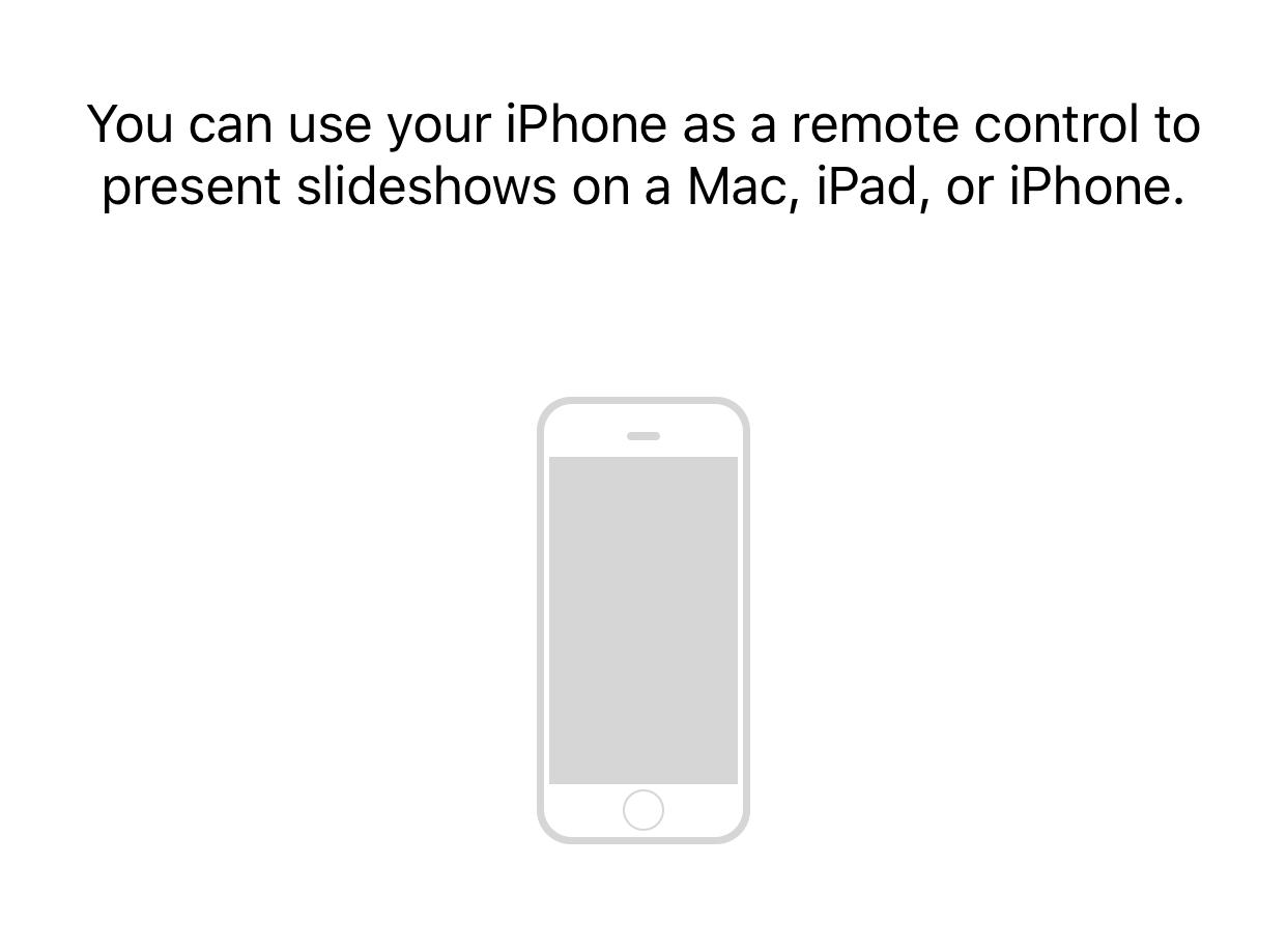 Keynote Remote para Mac