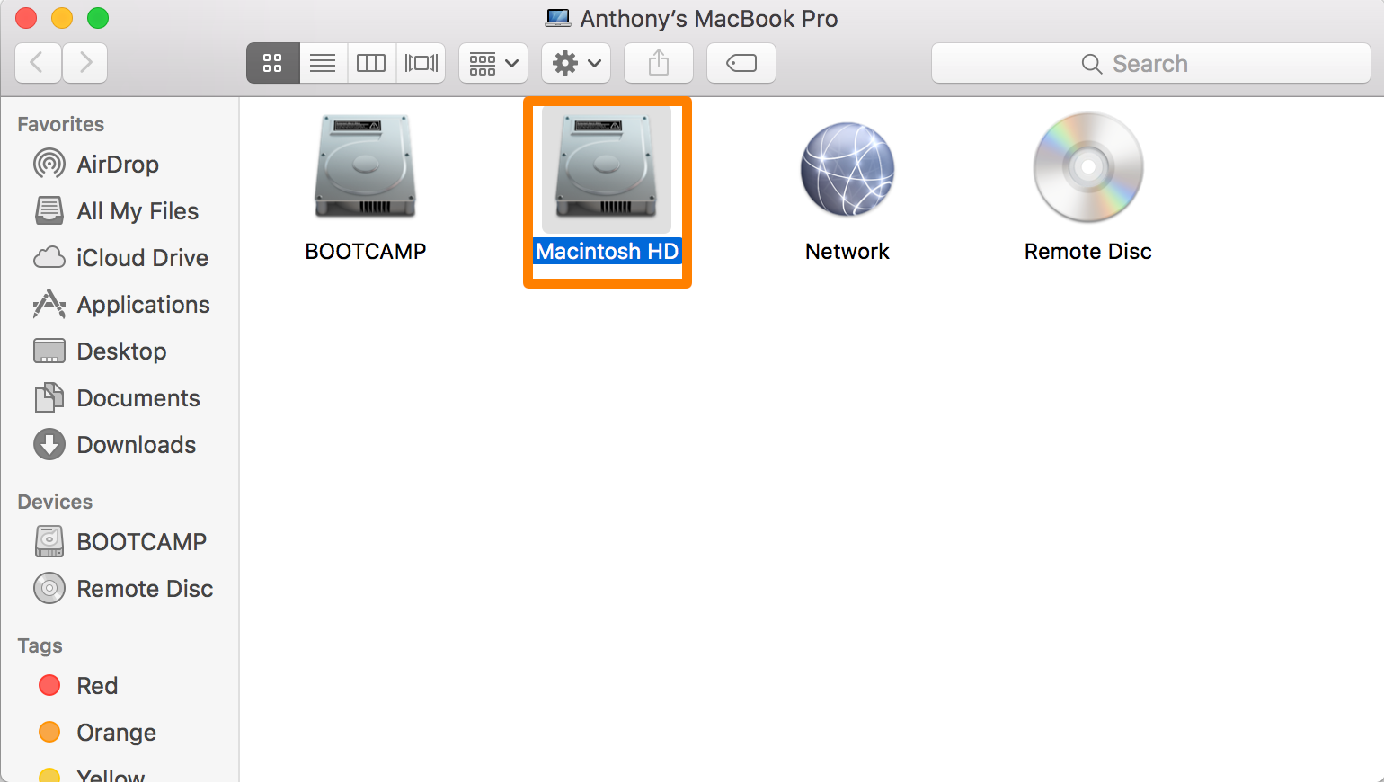 The easy way to share files between user accounts on a Mac