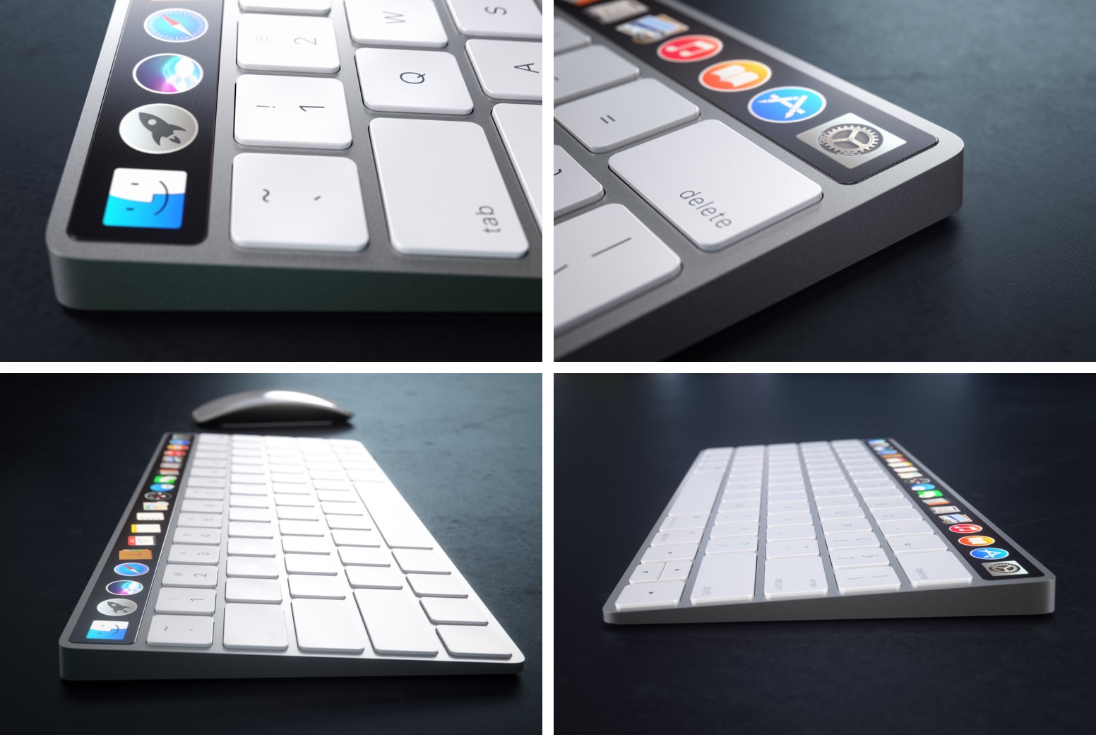 OLED Magic Keyboard Curved concept 003