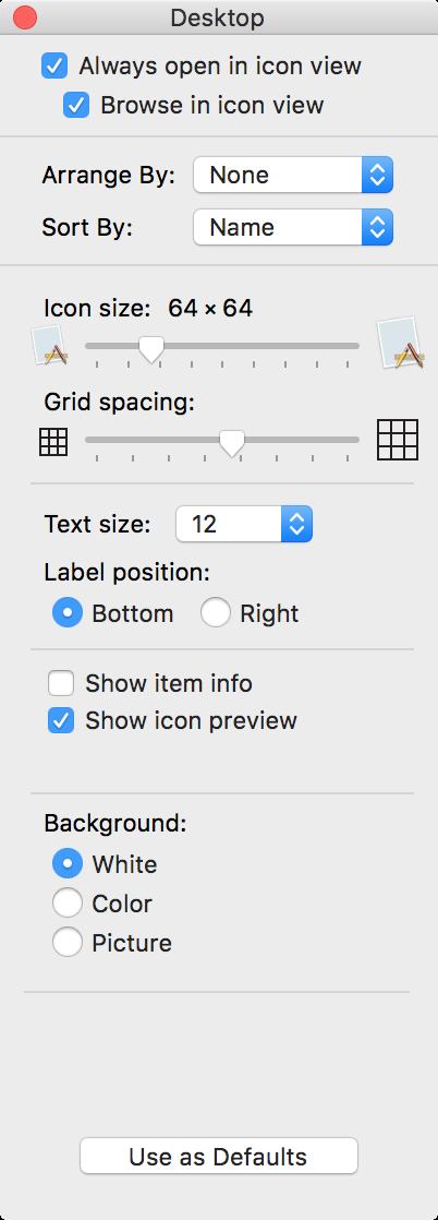 OS X Finder Background Change 1