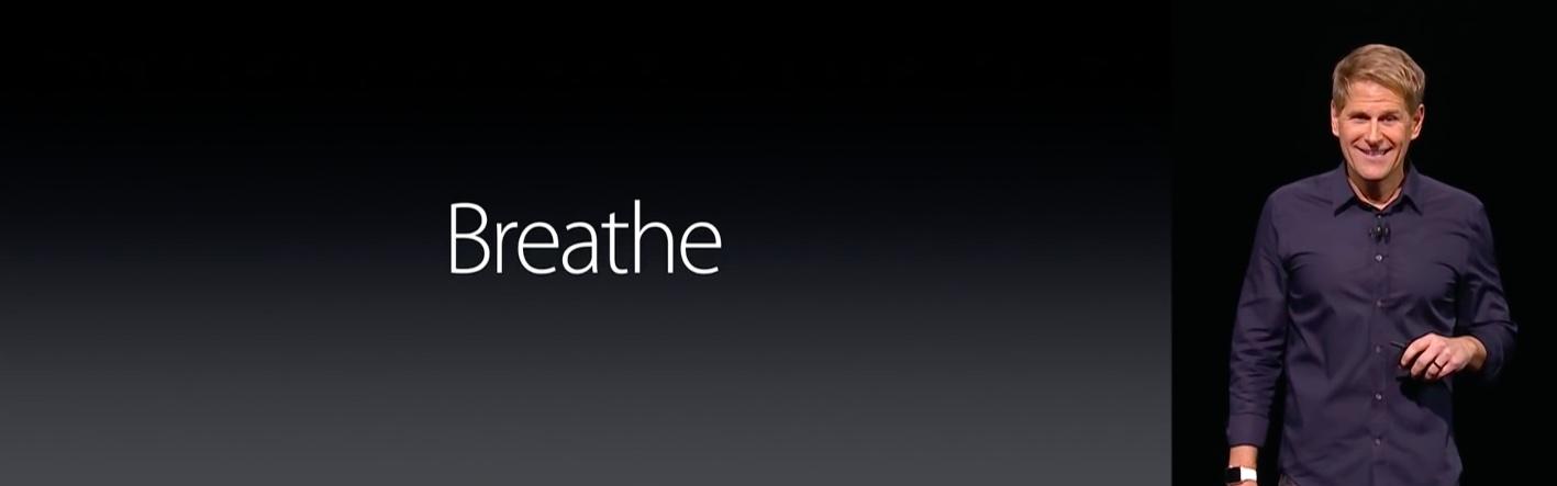 WWDC 2016 keynote Jay Blahnik Breathe app slide 003