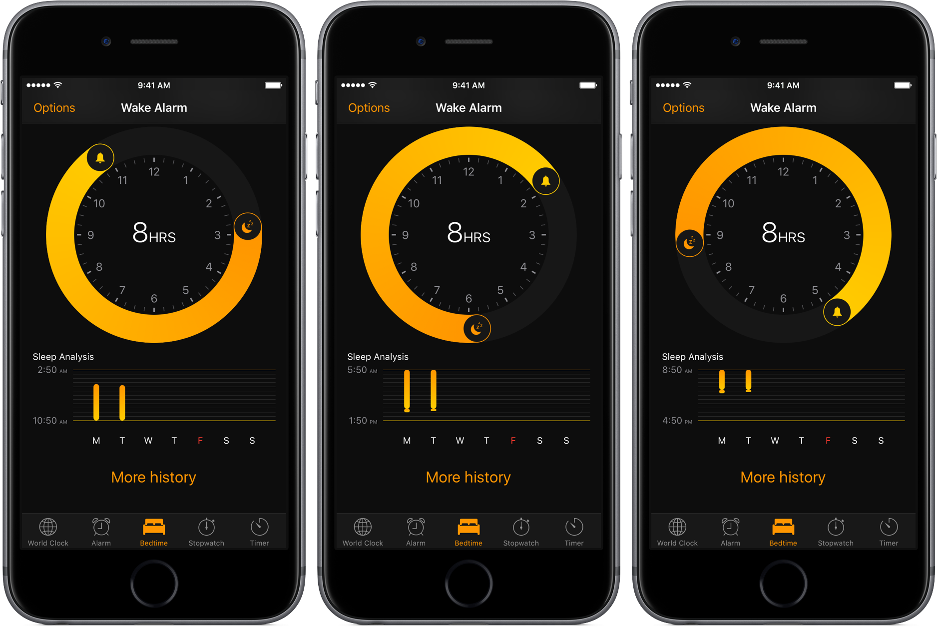 sleep analysis iphone ios 10 preview keep yourself well rested with bedtime and 9477