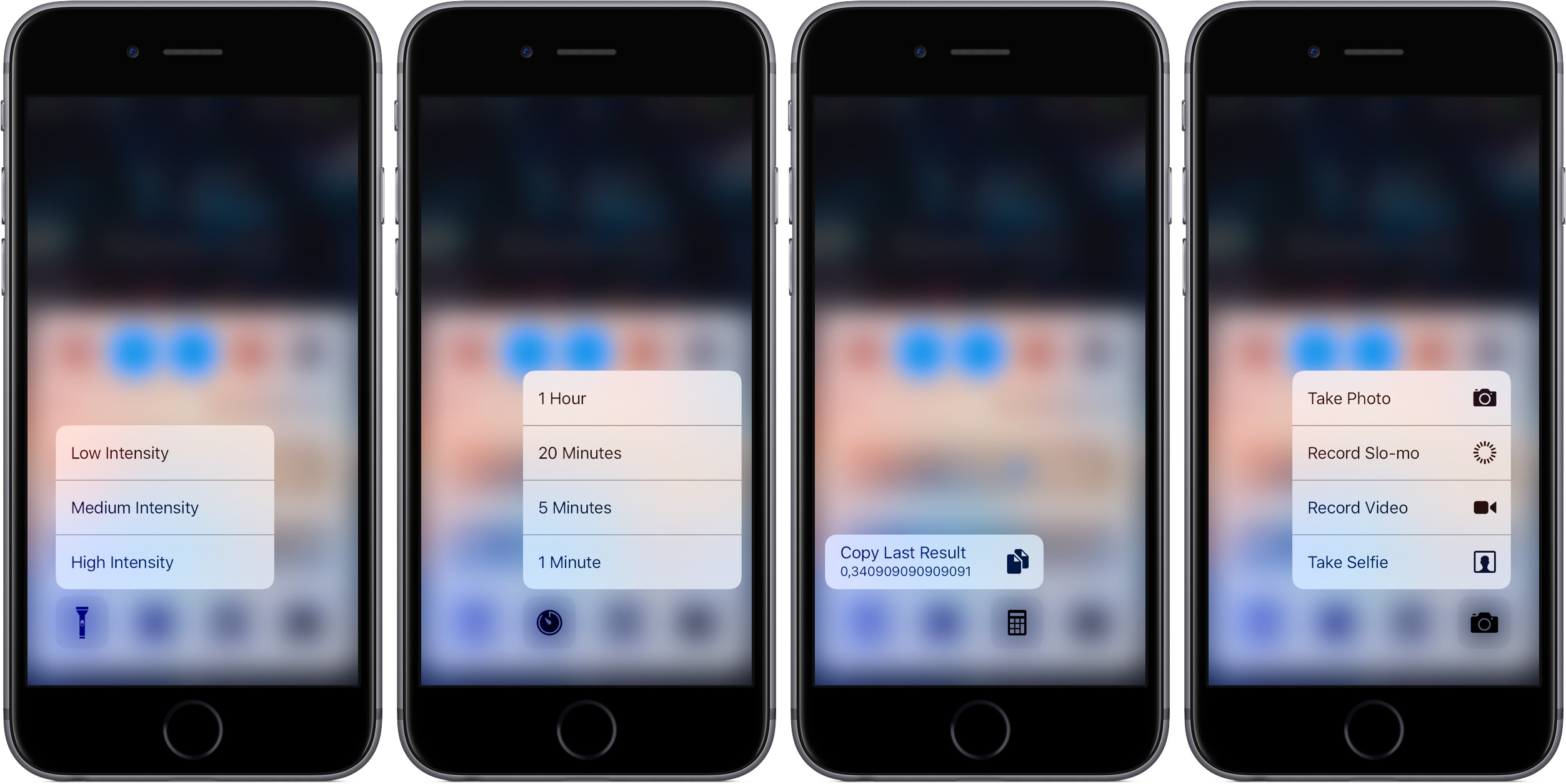 iOS 10 Control Center 3D Touch iPhone screenshot 001