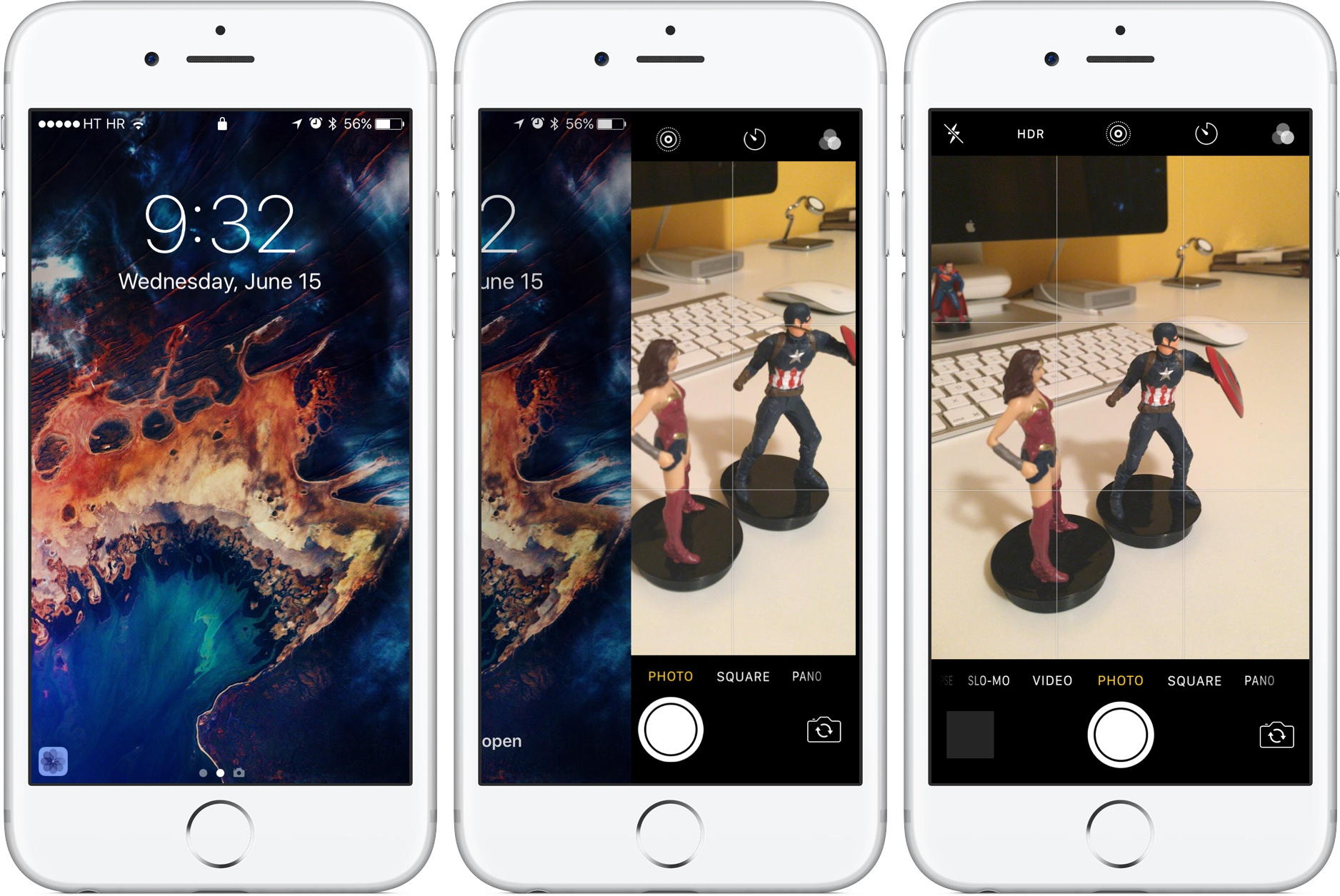 IOS 10 Preview: Your New Lock Screen With Raise To Wake