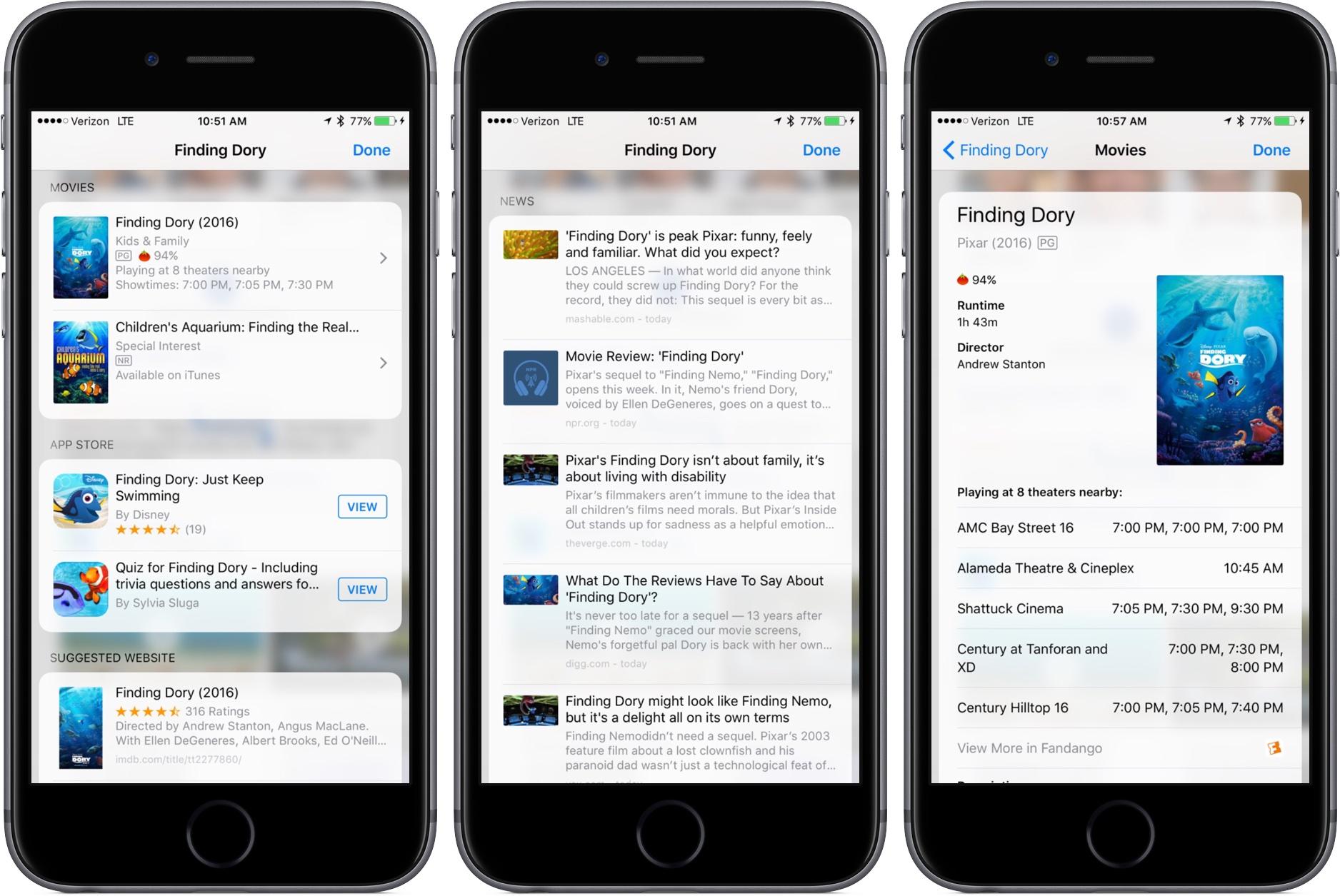 iOS 10 Look Up iPhone screenshot 004