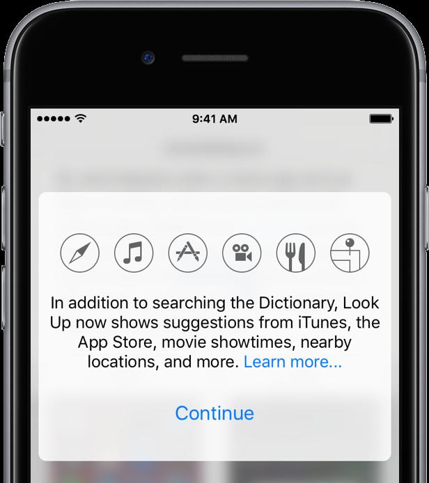 iOS 10 Look Up teaser 001