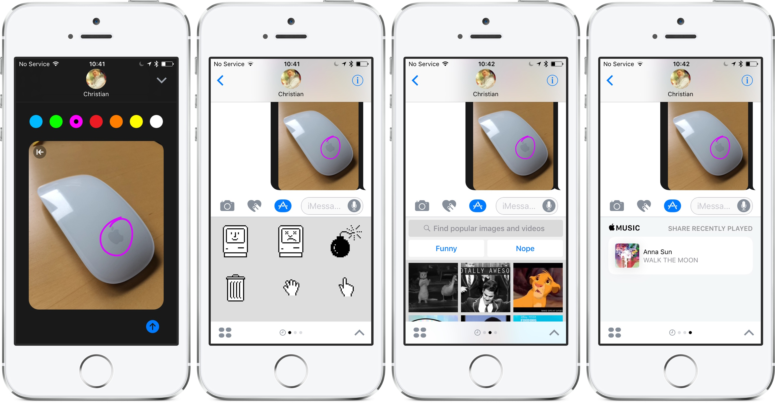 Tekenen in messenger