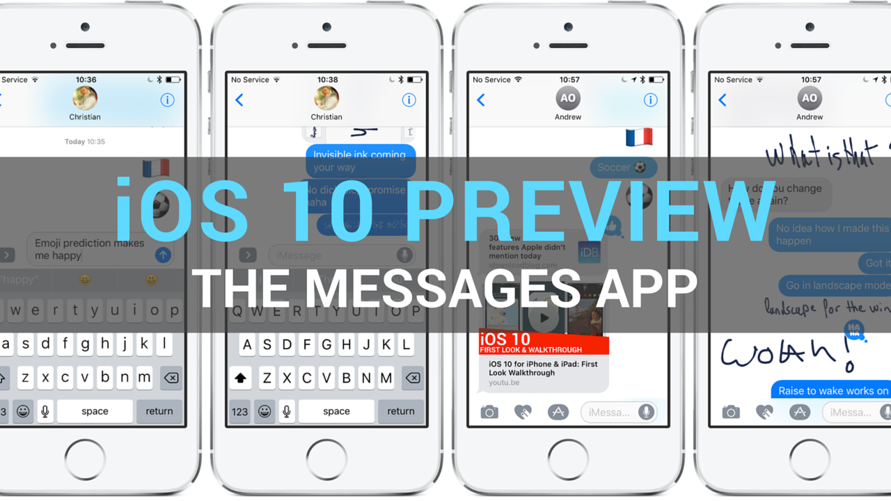 iOS 10 Messages preview teaser 001