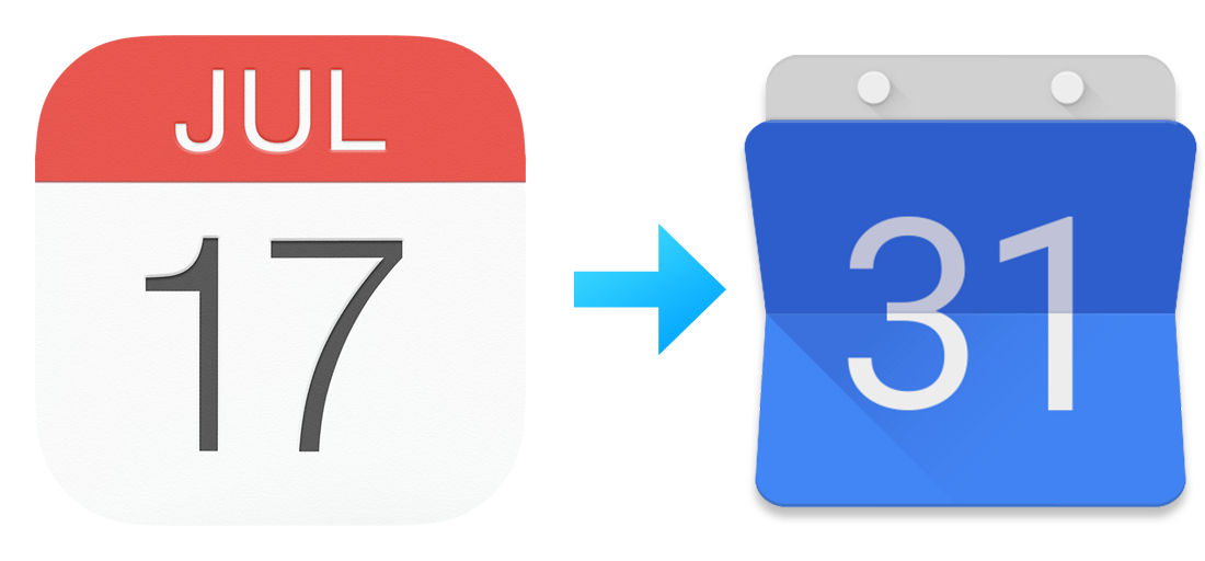 iOS Calendar to Google Calendar
