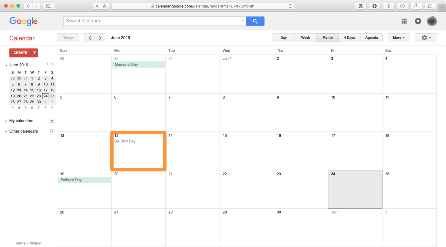 iOS event displaying in Google Calendar