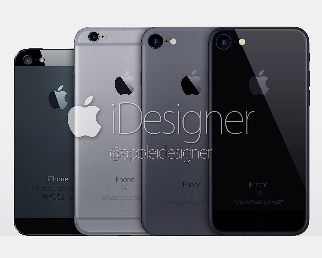 iPhone 7 concept Space Black Force Touch home button AppleiDesigner image 002