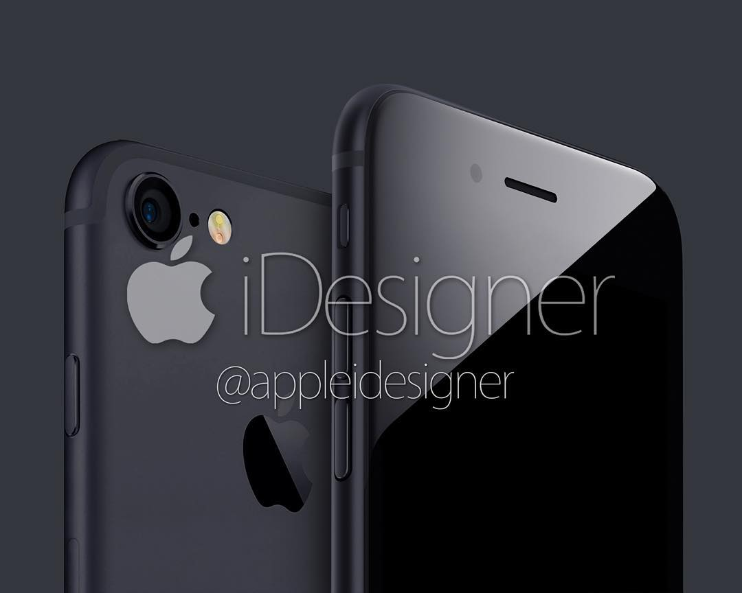 iPhone 7 concept Space Black Force Touch home button AppleiDesigner image 003