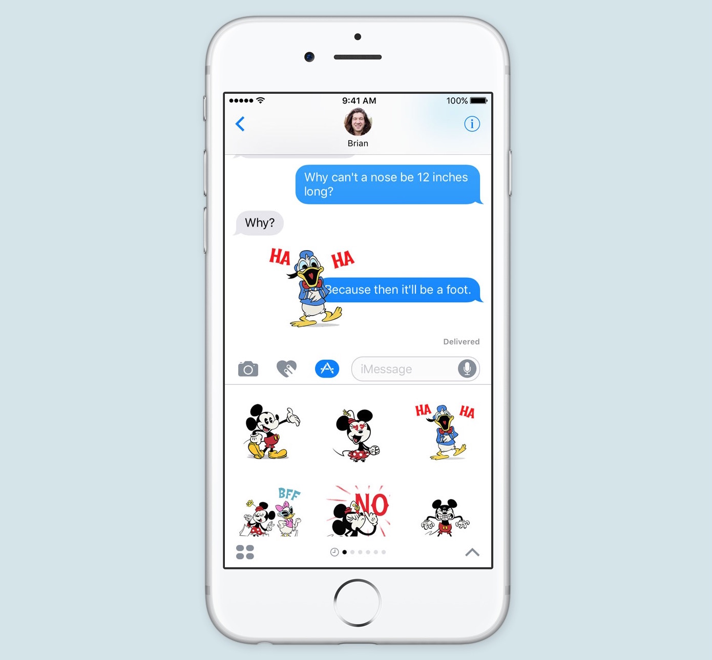 ios 10 messages stickers app store