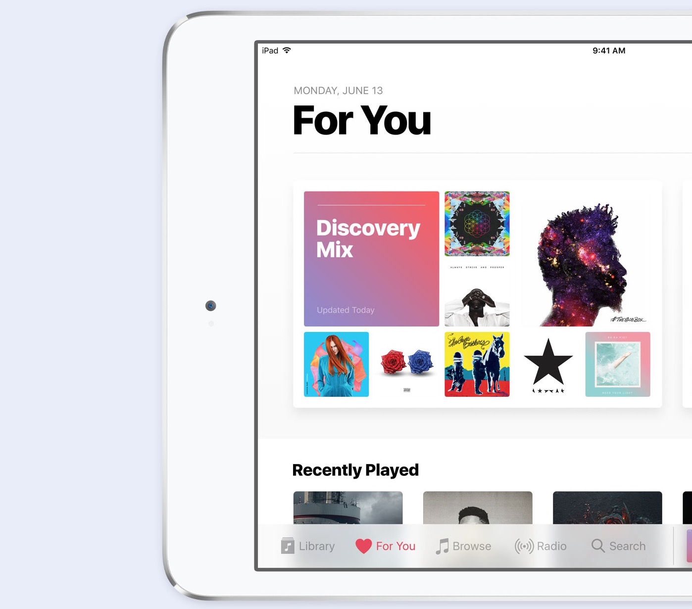 ios 10 music redesign