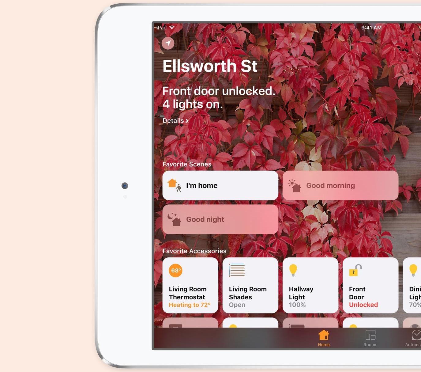 ios 10 new home app