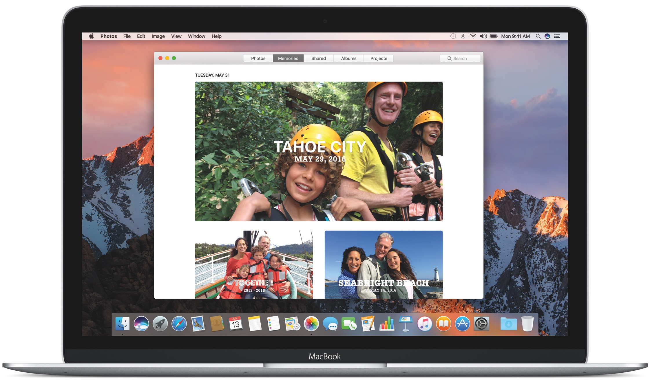 macOS Sierra desktop Photos Memories image 001