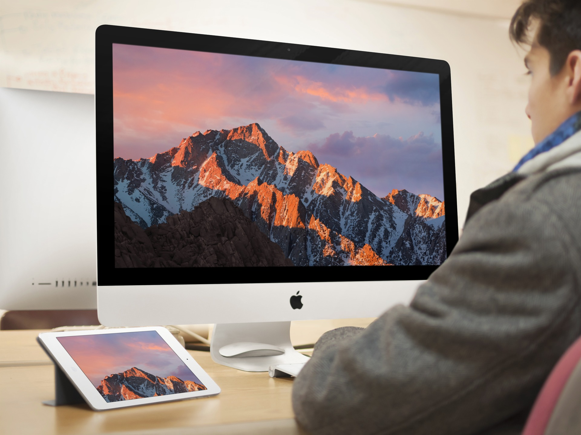 macOS Sierra wallpaper splash idownloadblog