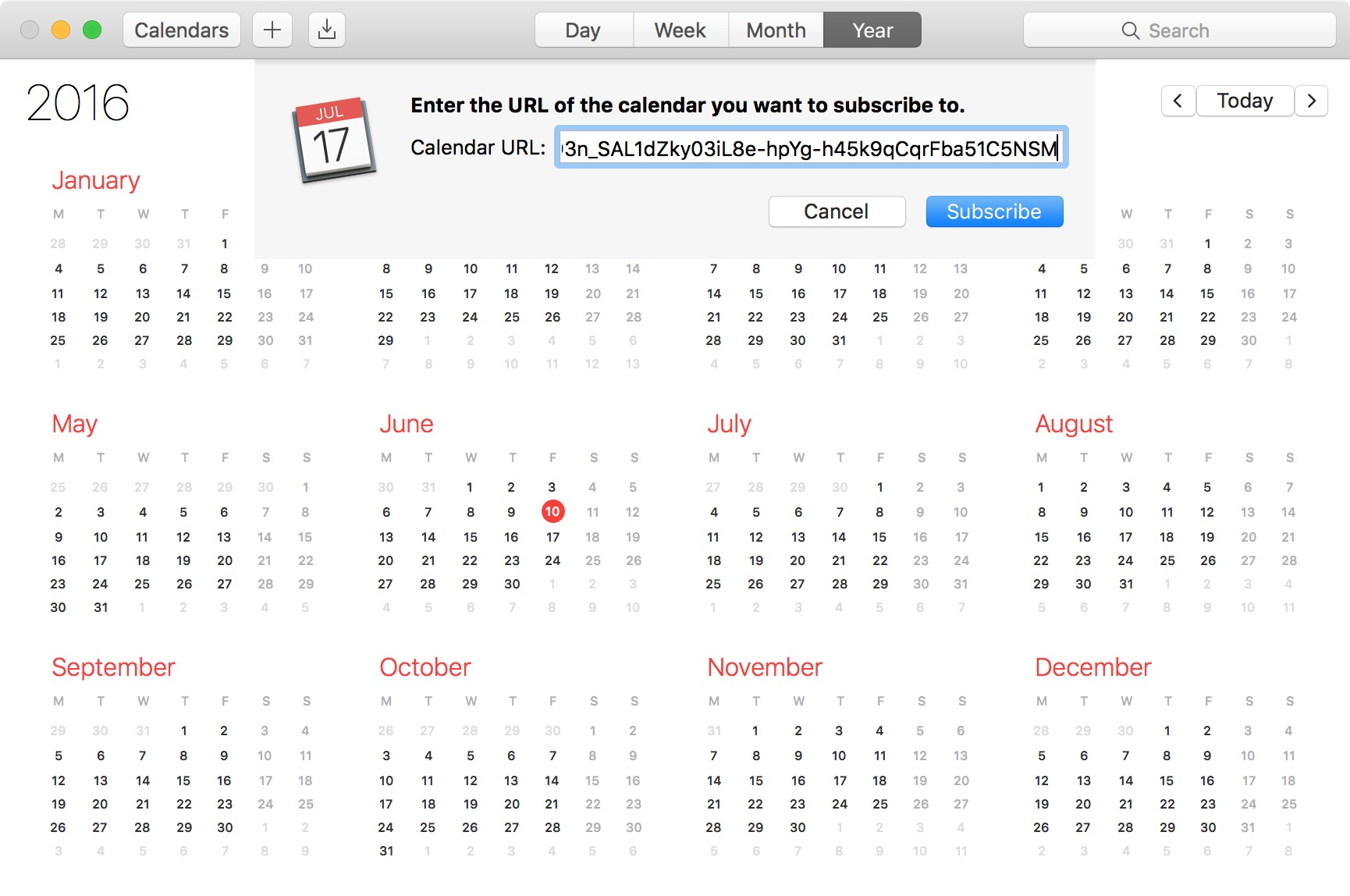 How to have iCloud sync your calendar subscriptions across