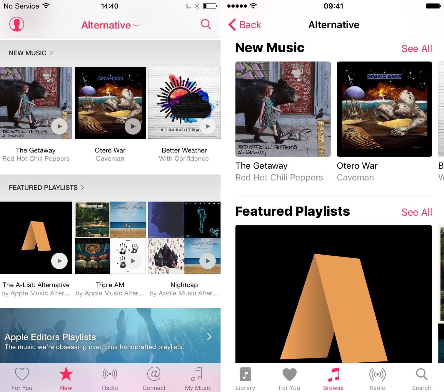 play music directly from artwork apple music