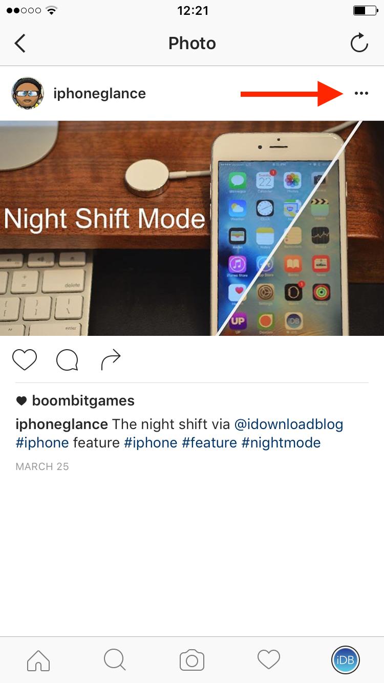 etiquetado foto instagram