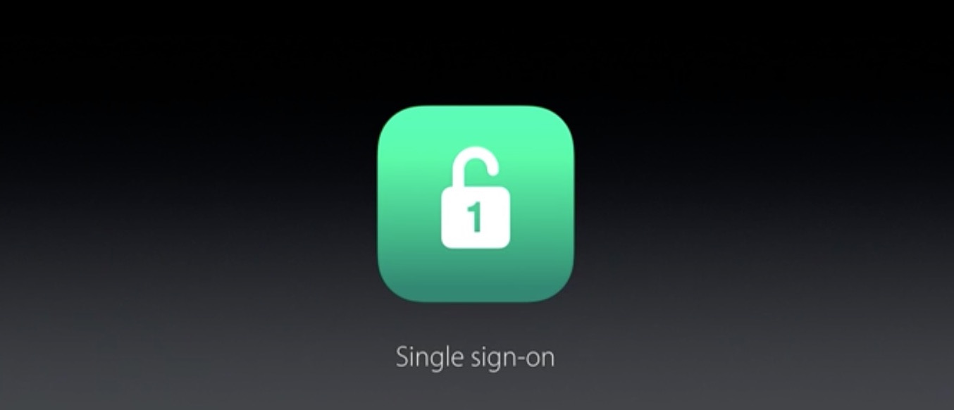 wwdc 2016 single sign on apple tv