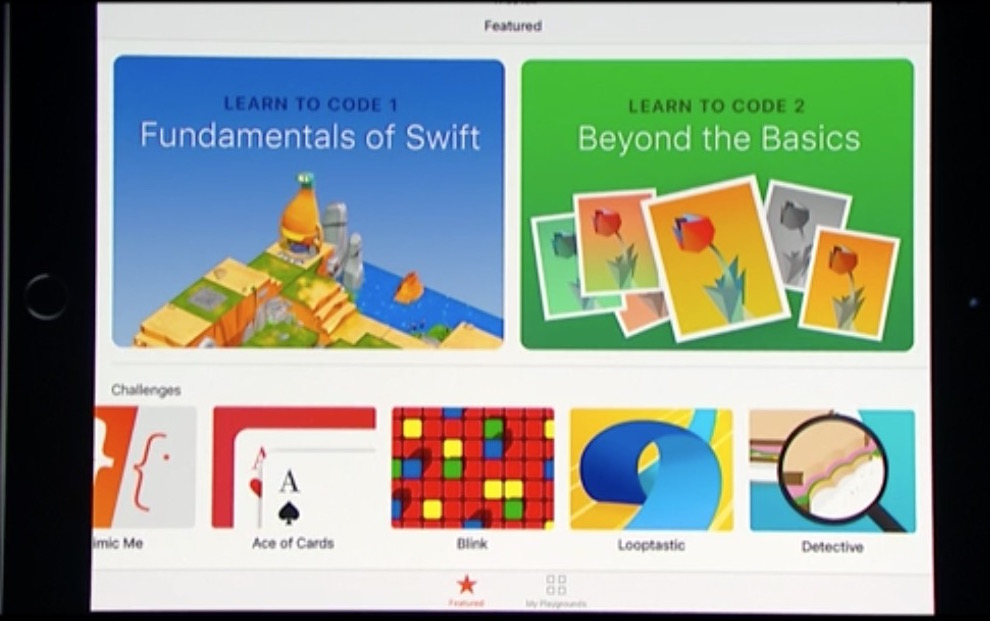 wwdc 2016 swift playgrounds