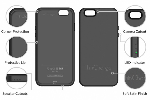 online store 6001e a34e3 ThinCharge for iPhone review: an extremely slim battery case with a ...