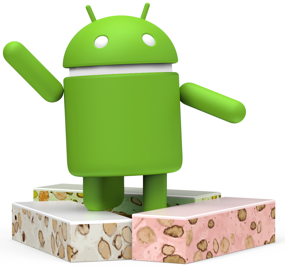 Android N statue