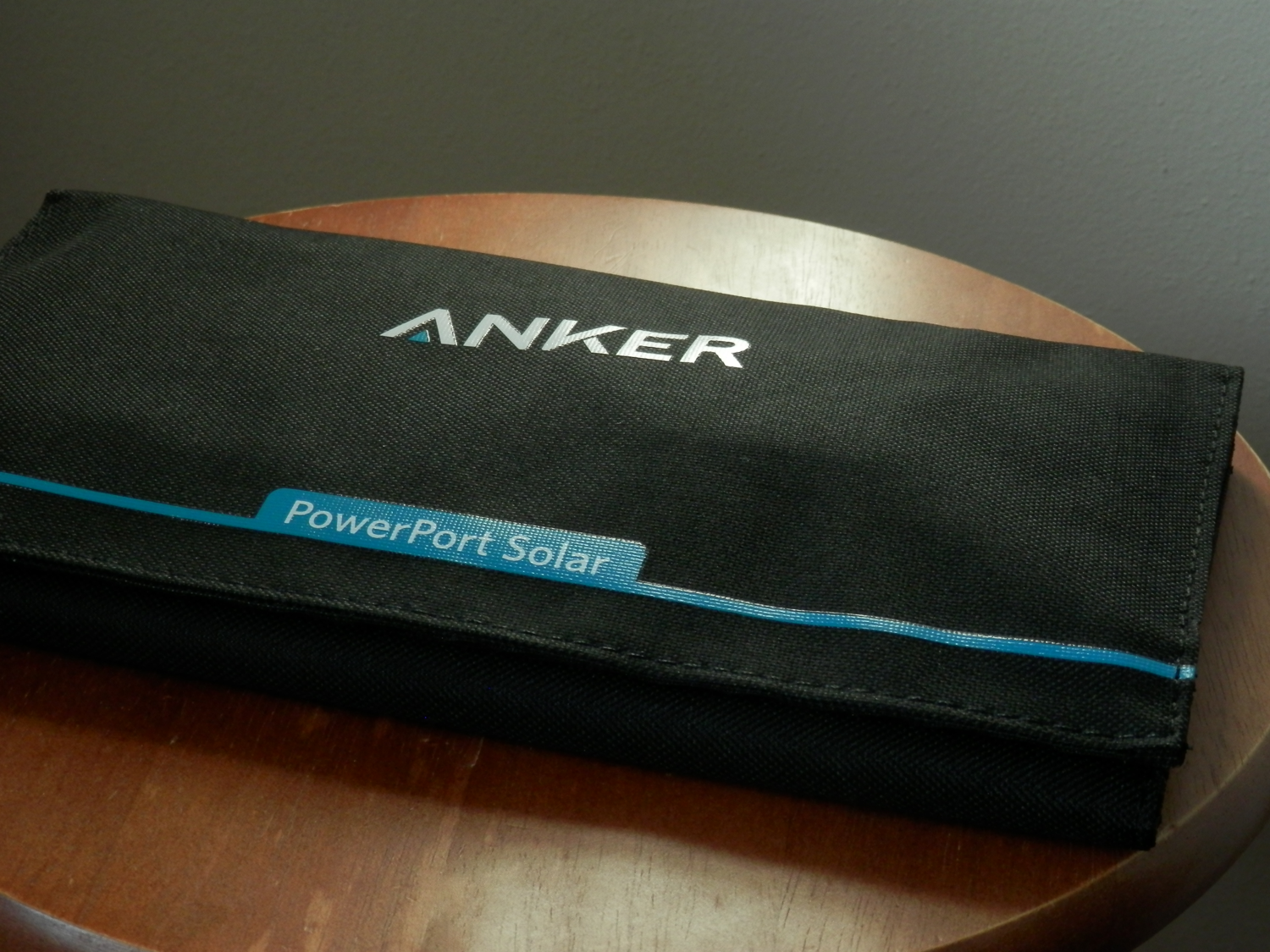 Anker PowerPort Solar Folded Up