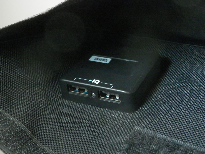 Anker PowerPort Solar USB Ports