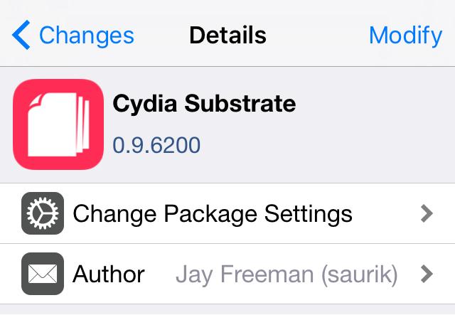 Cydia Substrate iOS 9.3.3