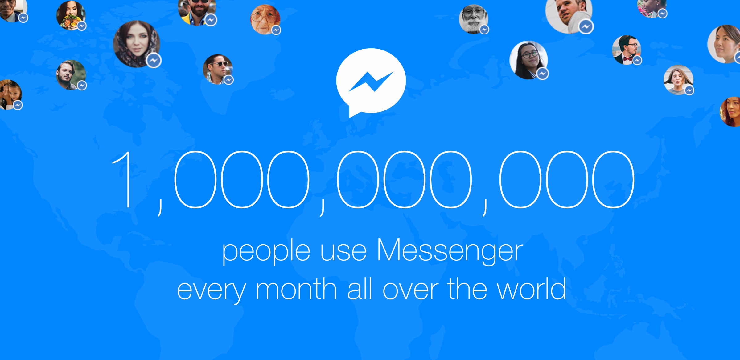 Facebook Messenger billion users teaser 001