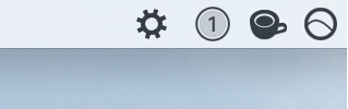 Gear Icon in Mac Menu Bar