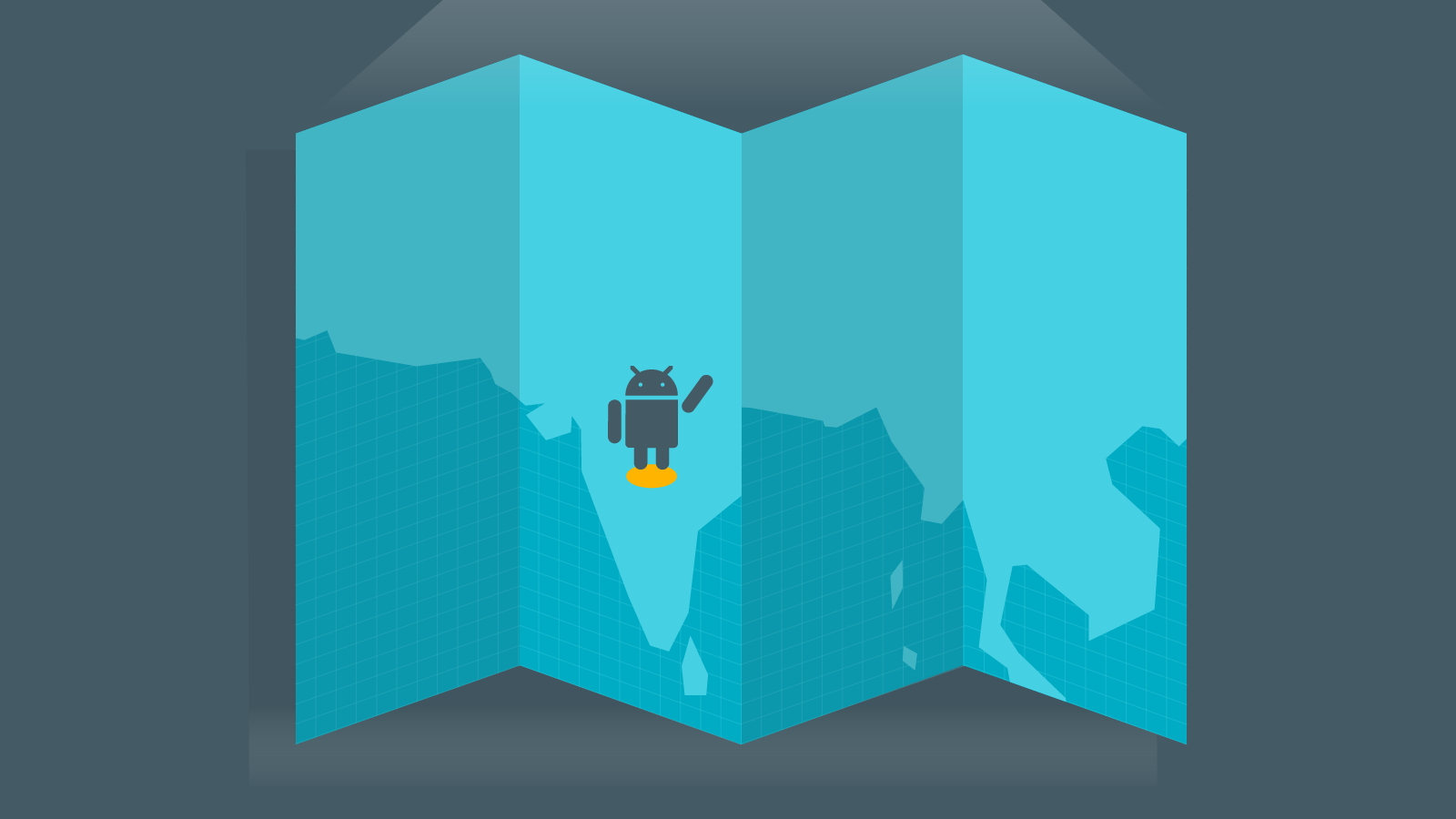 Google Android Skilling India map