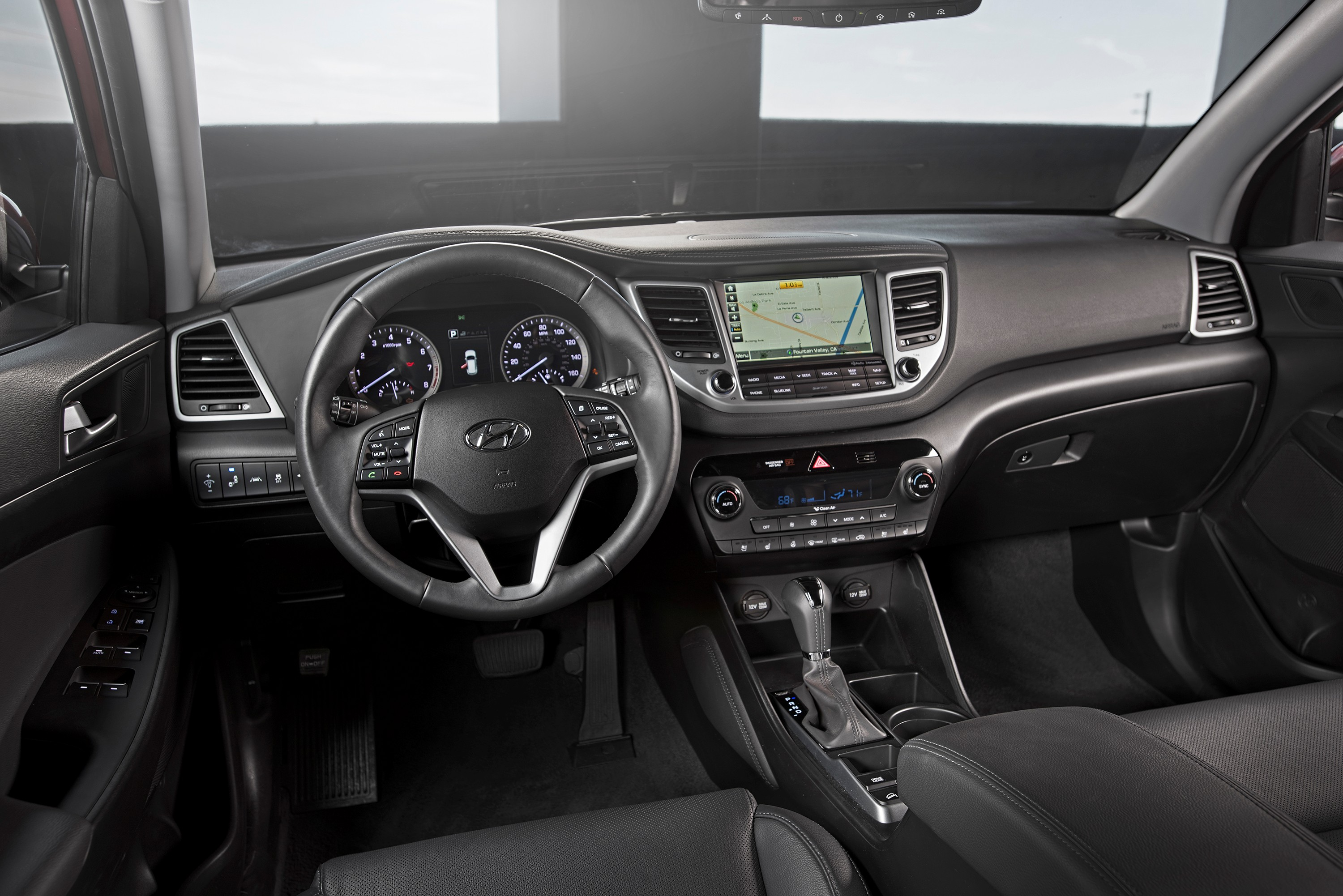 The 2017 Tucson Interior With Android Auto