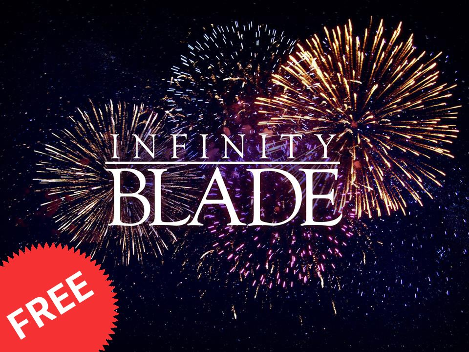 Infinity Blade Independence Day promotion