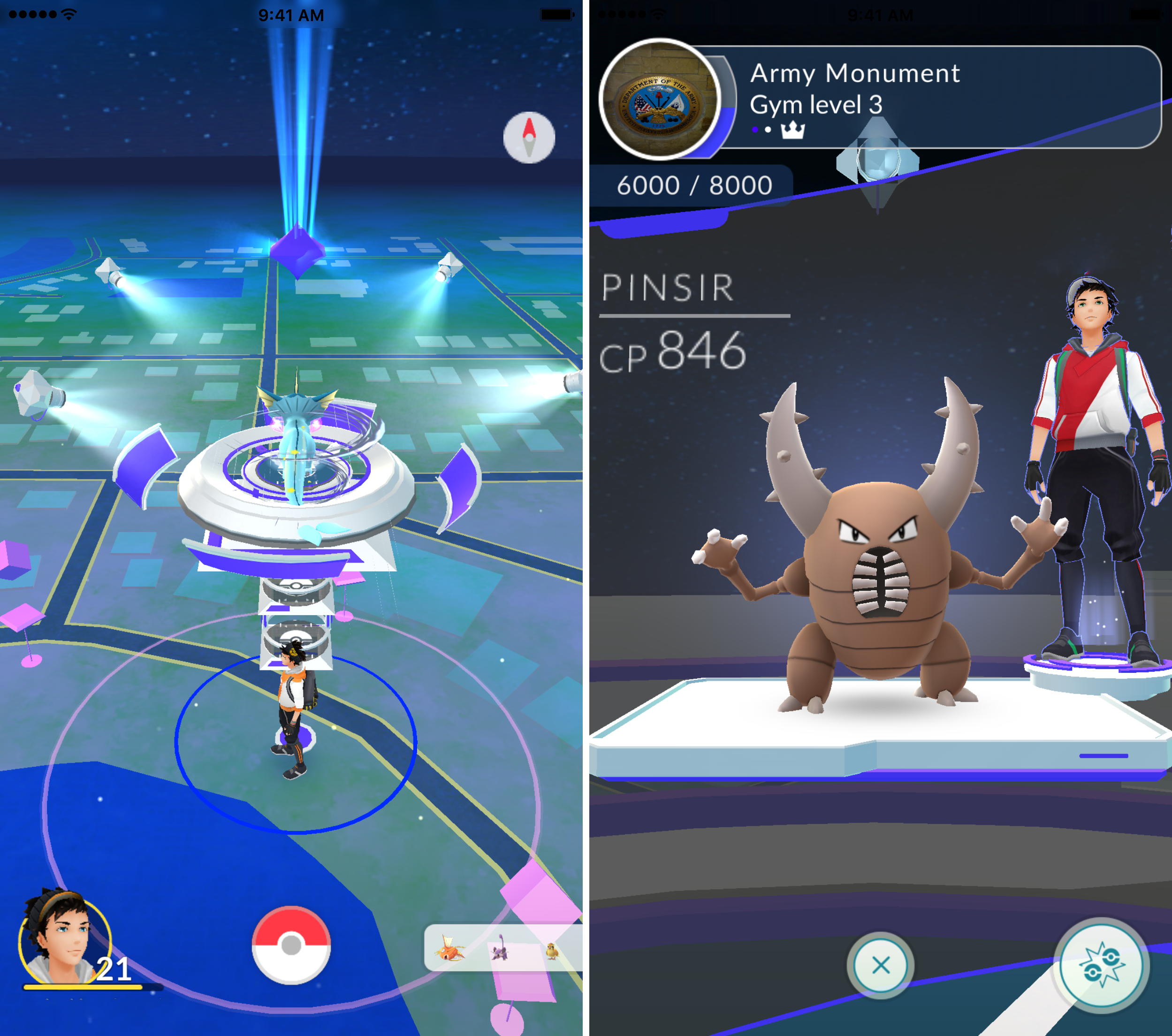 Pokemon GO gym image 1