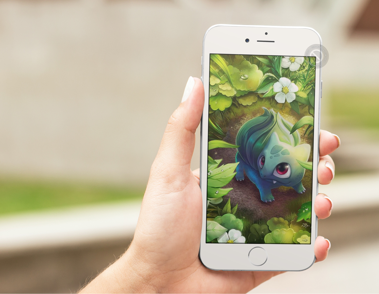 Pokemon wallpaper splash