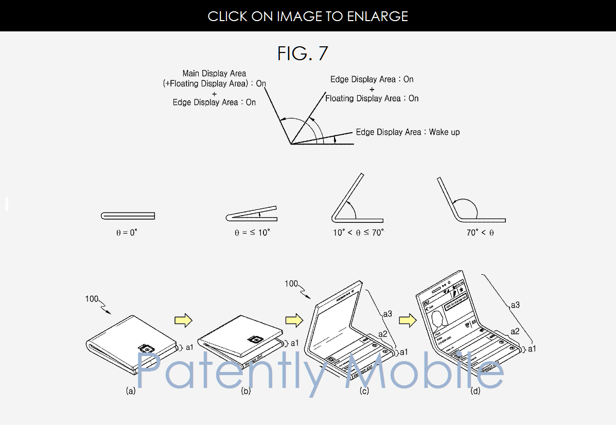 Samsung patent foldable smartphone Patently Apple 002
