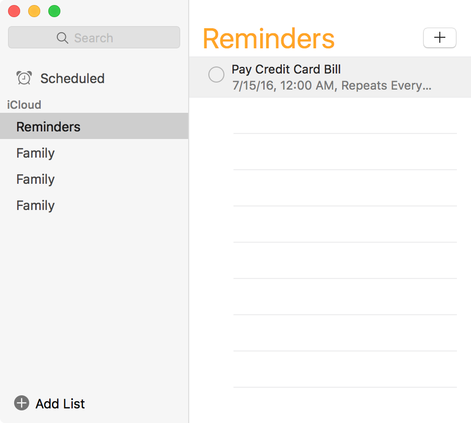 Saved Interval for Reminders Mac