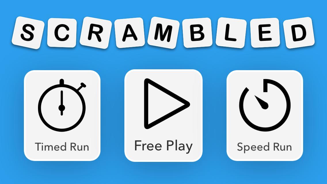 Scrambled Game Modes