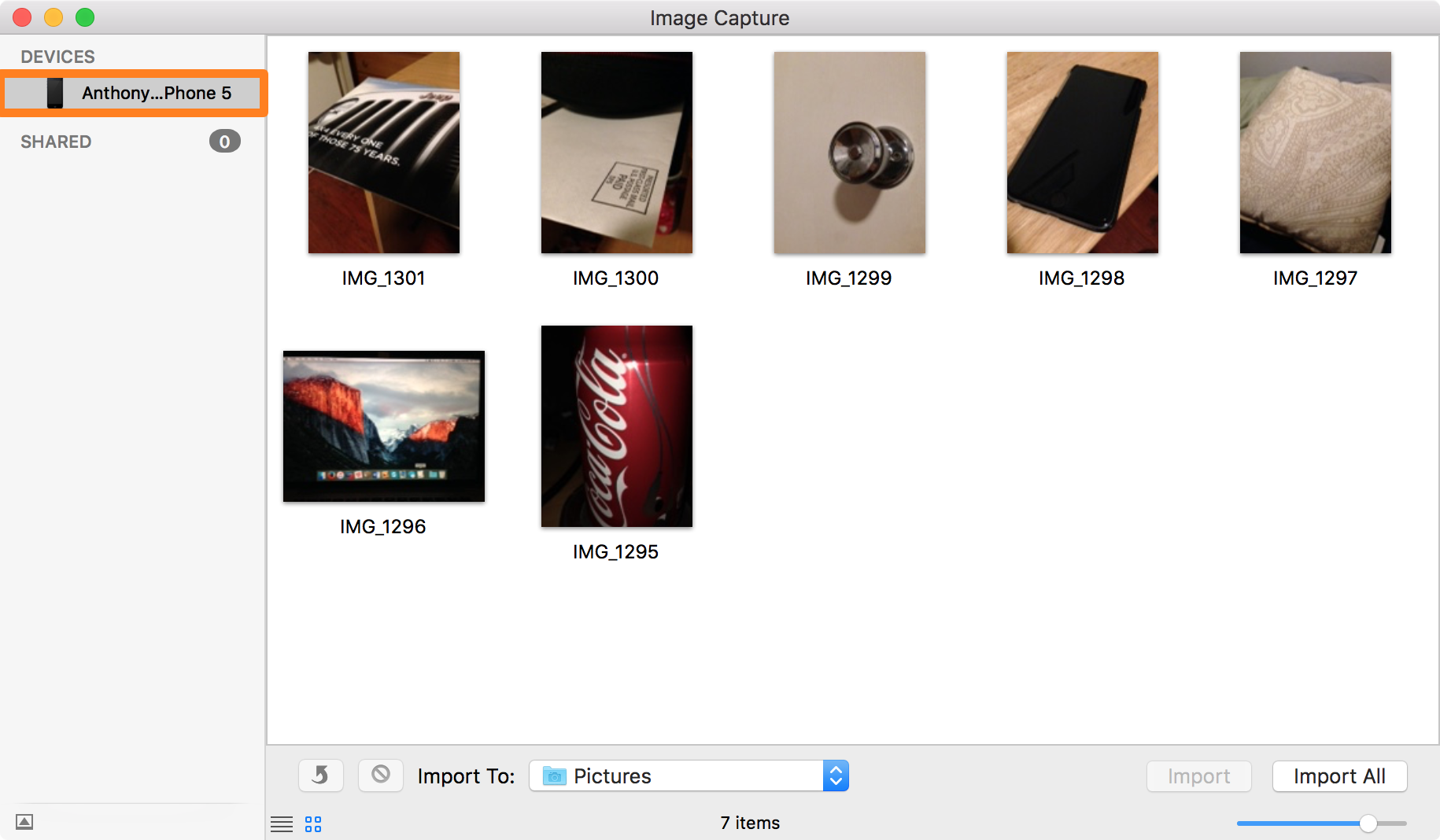 Scanning on a Mac Using Image Capture
