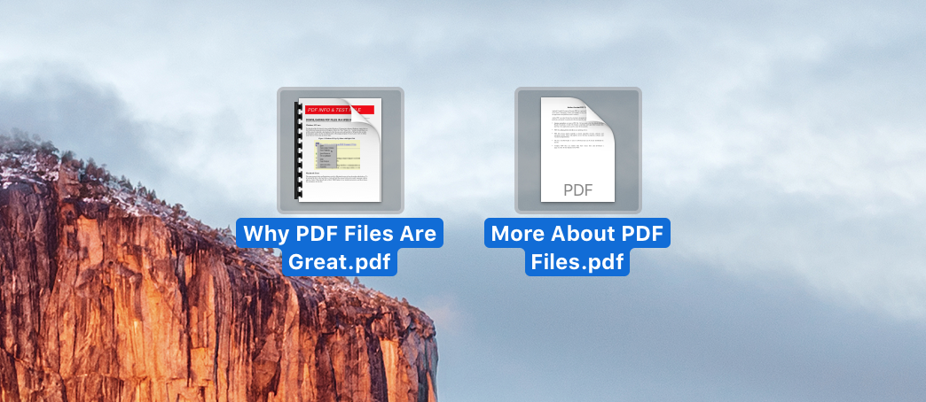 Two PDF Files to Combine on Mac